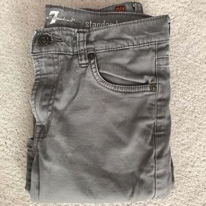 7 for all man kind grey jeans